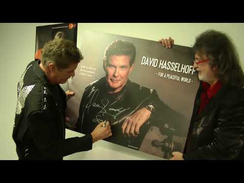 David Hasselhoff Signs of Fame Aktuell 1 HD