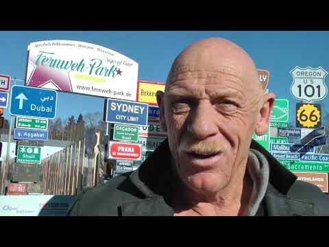 STARS Joe Bausch im Signs of Fame des Fernweh Parks HD Aktuell www fernweh park de