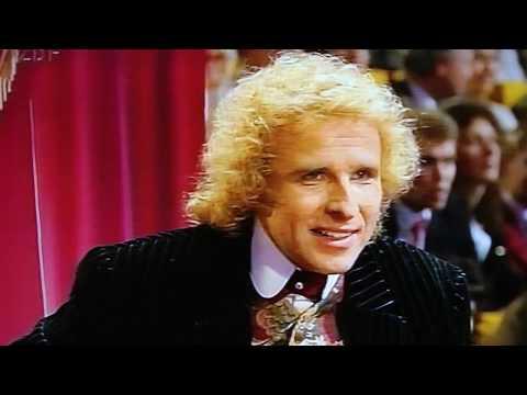 STARS Wetten dass Klaus Beer in TV Sendung mit Thomas Gottschalk 12 März 1994 Fernweh Park Histo