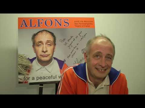 STARS Alfons im Signs of Fame des Fernweh Parks HD www fernweh park de
