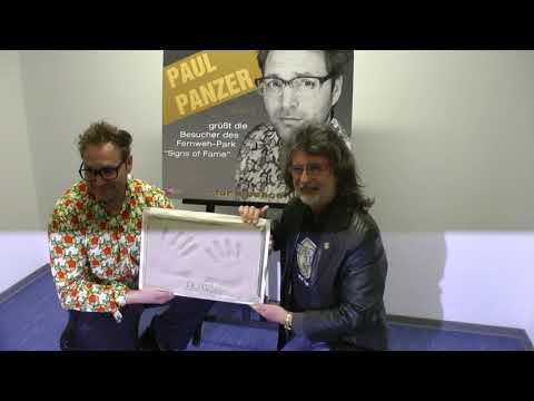 STARS Paul Panzer im Signs of Fame des Fernweh Park Aktuell HD www fernweh park de