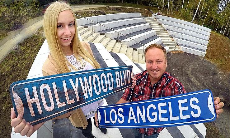 Los Angeles und HOLLYWOOD
