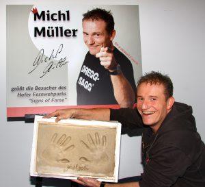 das shooting beginnt - Michl Muller Lebenslauf