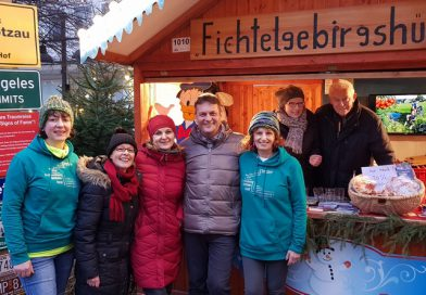 Fernweh-Park Oberkotzau auf dem Weihnachtsmarkt Berlin-Spandau