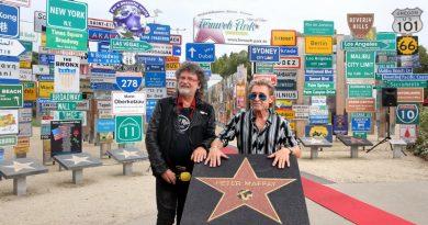 Höchste Auszeichnung des Fernweh-Parks: STAR-STERN Verleihung an Peter Maffay