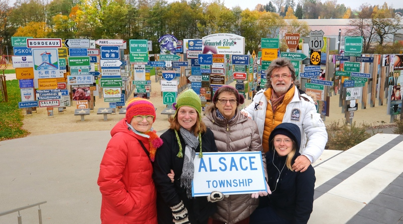 Alsace – Oley – Pagoda (USA) – all from Kathy with friends