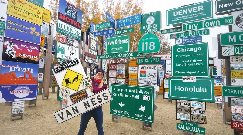 VAN (N) NESS (A) – Amerika-Lebenstraum im Fernweh-Park manifestiert